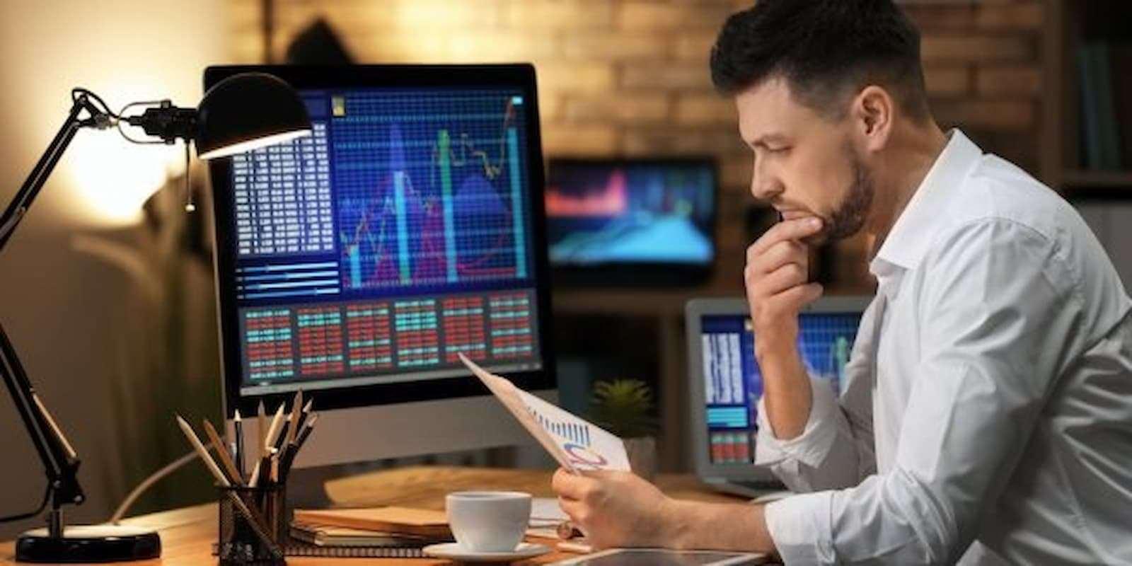 Как проводится торговля акциями на бирже