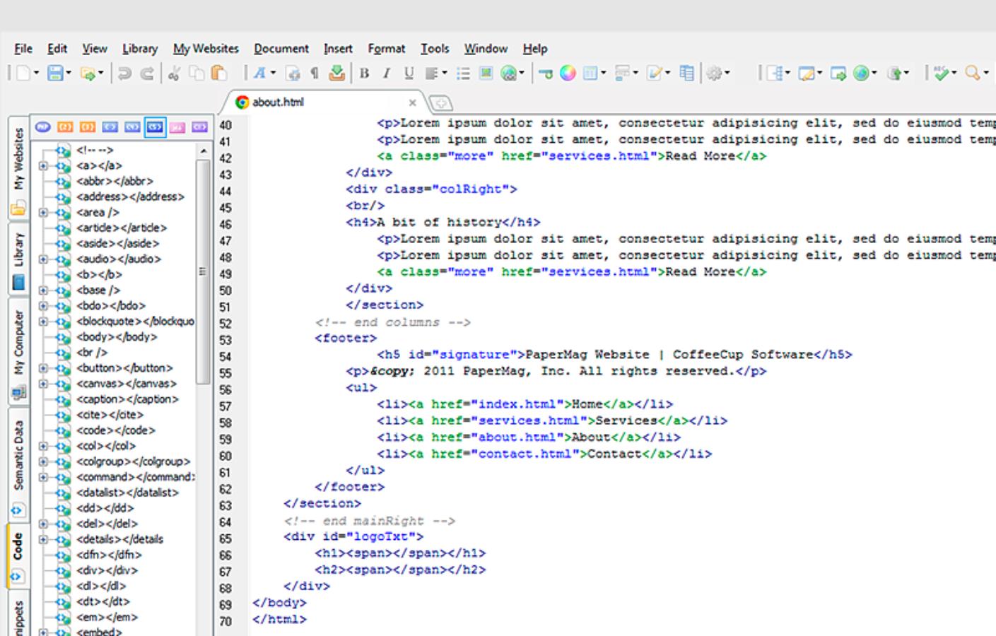 ТОП-10 бесплатных HTML-редакторов