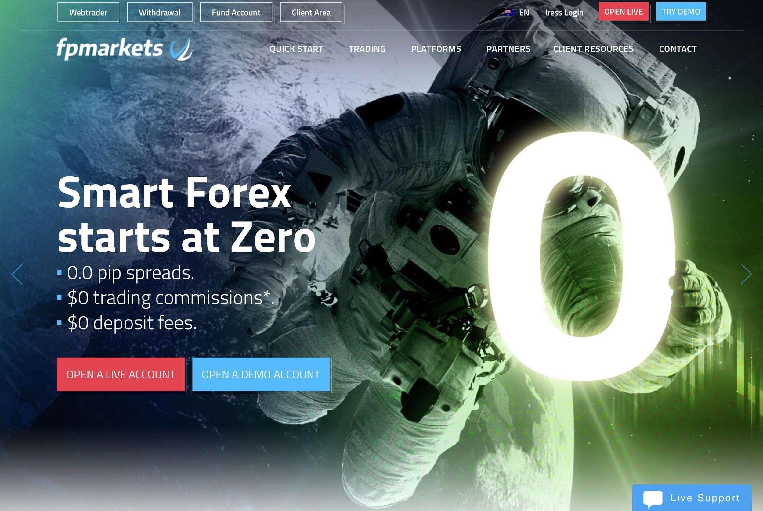 FP Markets broker: Opis, recenzje