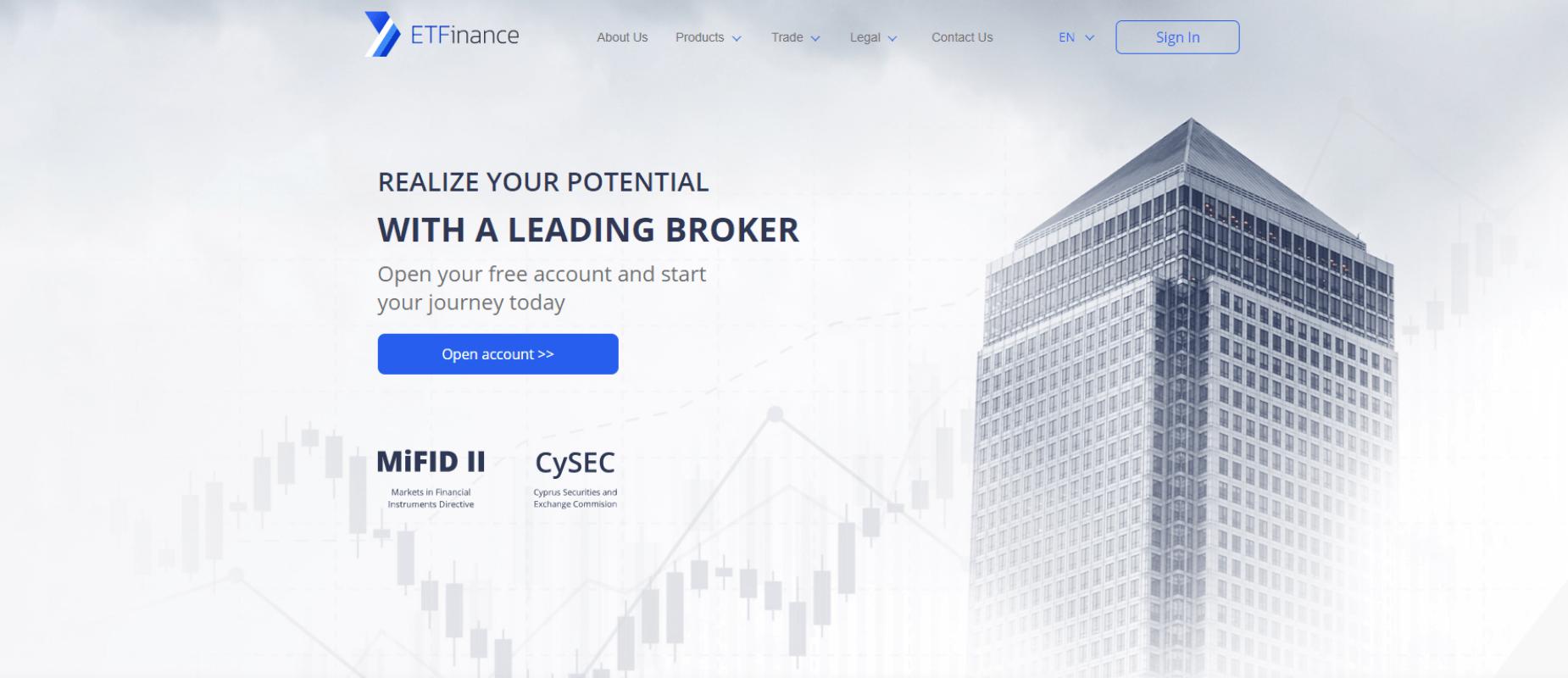 Обзор Брокера ETFinance: преимущества и недостатки
