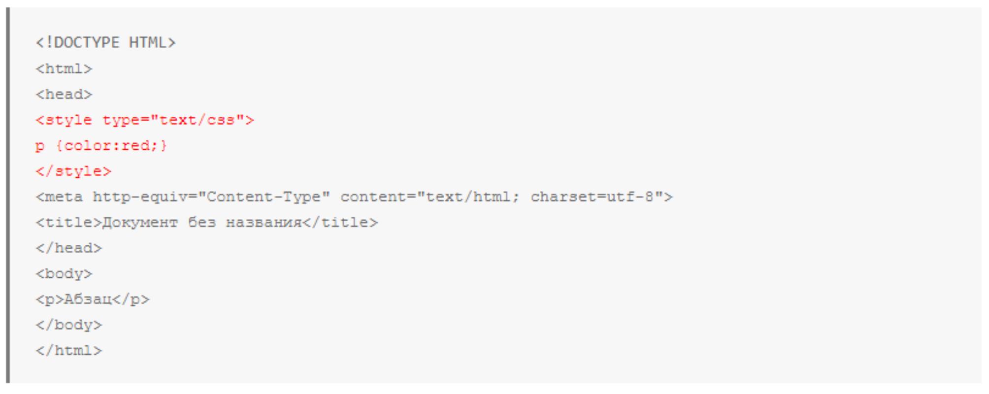 5 вариантов подключения css к html