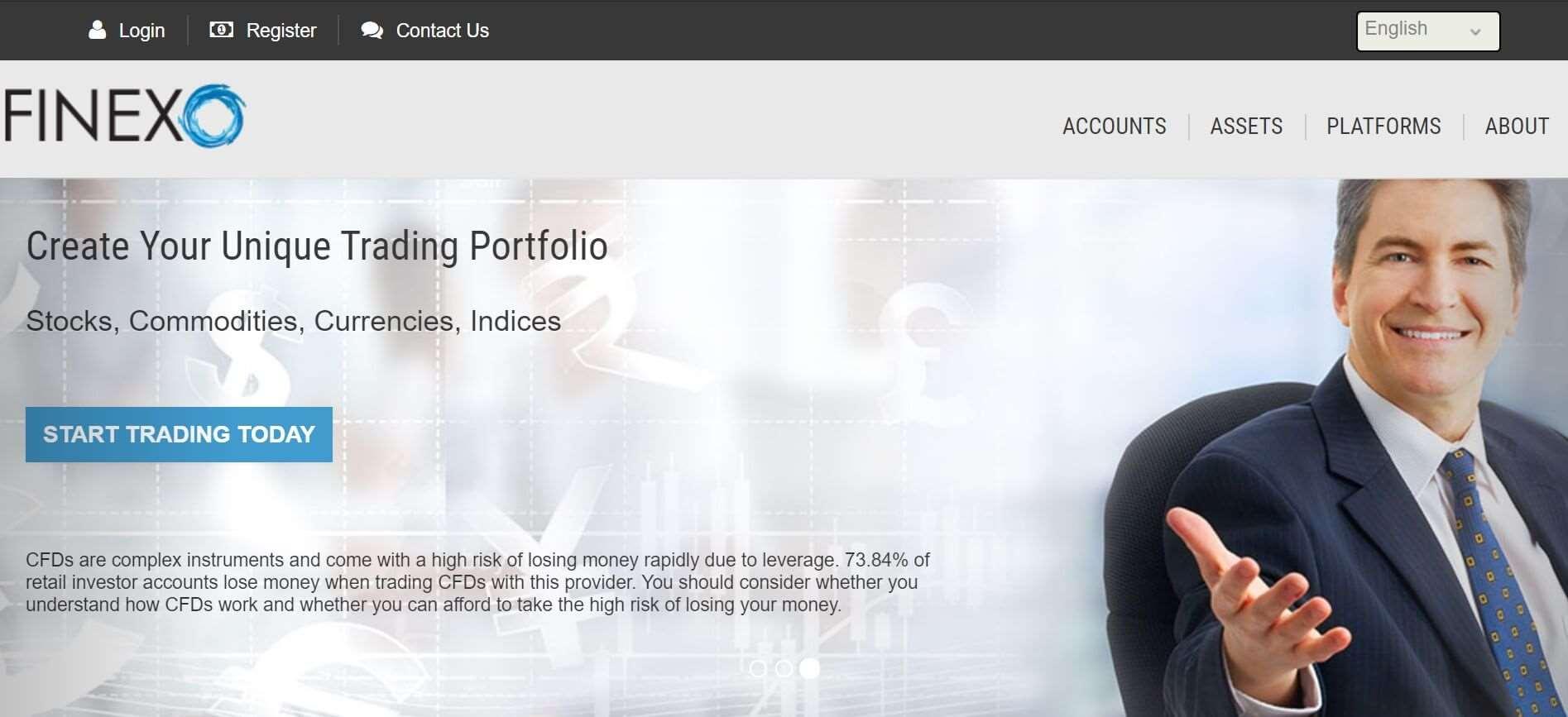 Обзор брокера Finexo: информация о компании