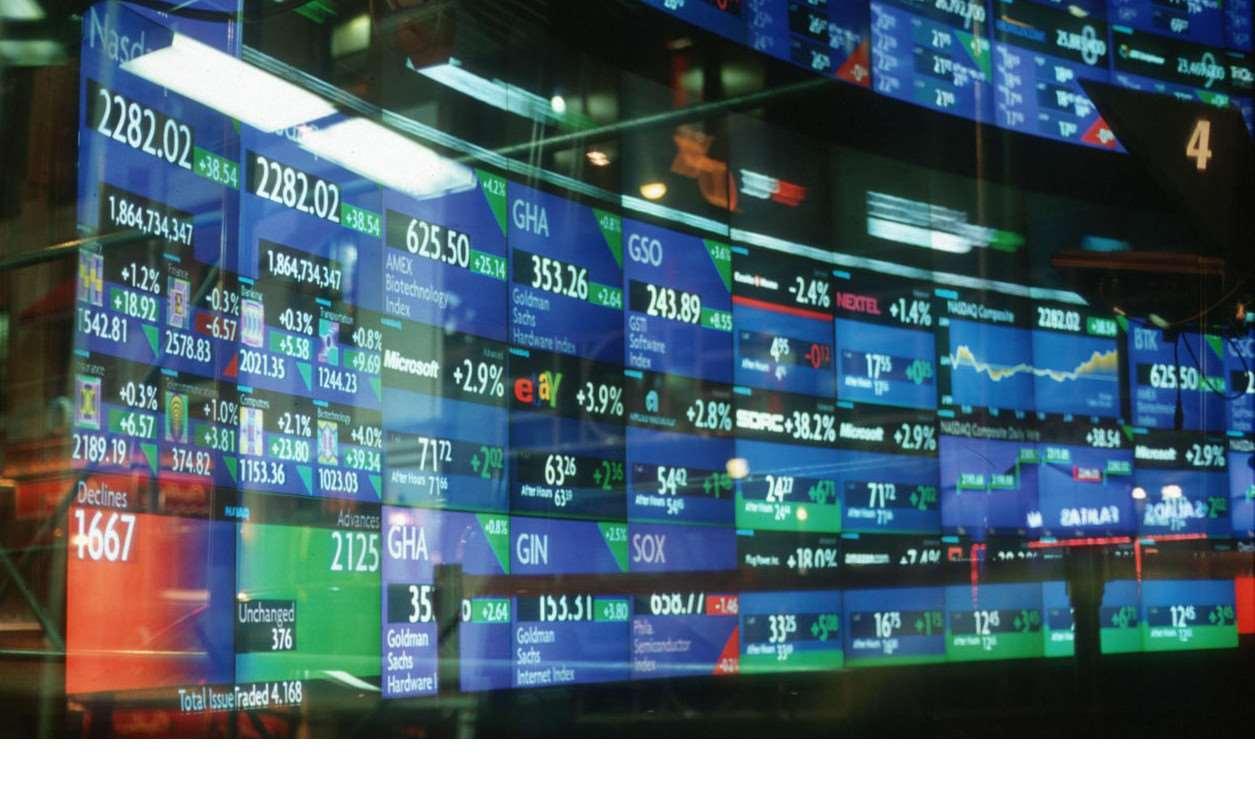 Время открытия бирж